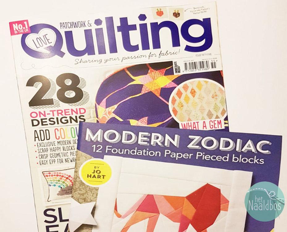Love patchwork & quilting nummer 55