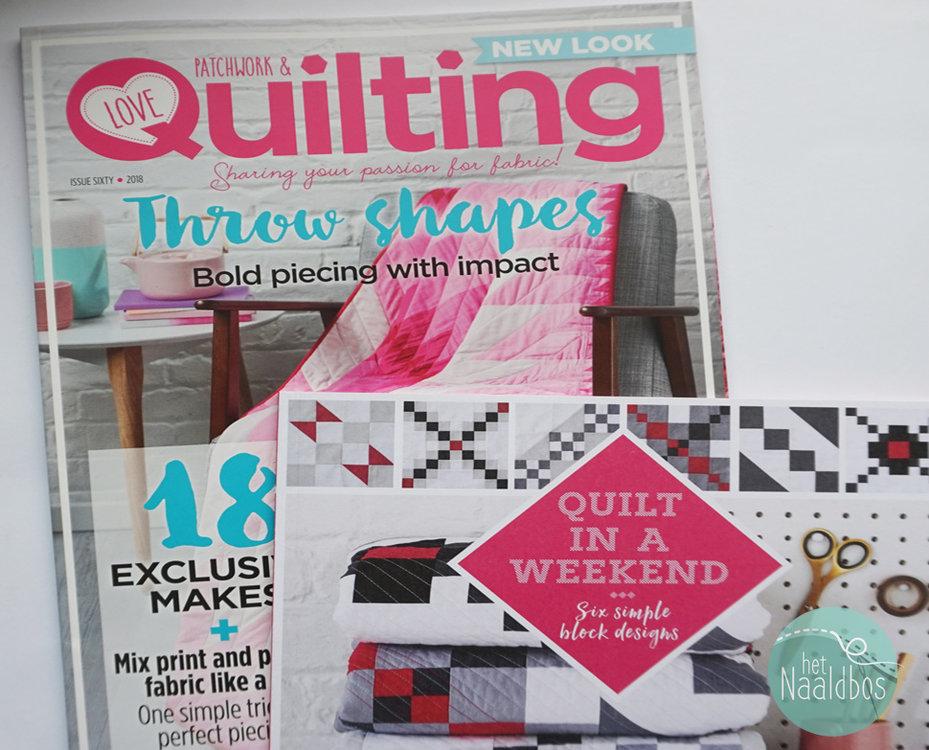 Love patchwork & quilting nummer 60
