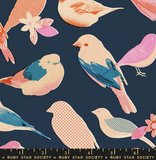 Ruby Star Society - Social Chirp navy_