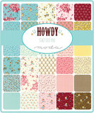 Moda - Howdy - Stacy Iest Hsu mini charm pack_