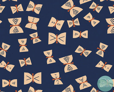 Ruby Star Society - Alma Butterflies Indigo