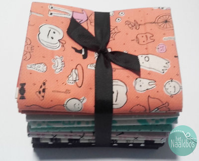 Halloween fat quarter bundel