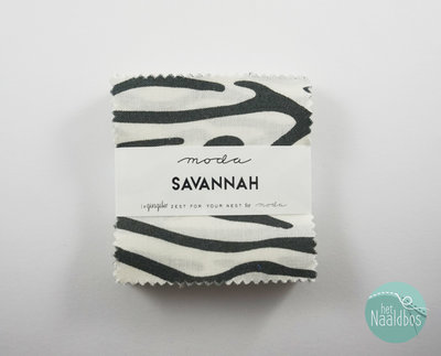 Moda - Savannah - Gingiber mini charm pack