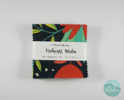 Moda - Midnight garden - One Canoe Two mini charm pack