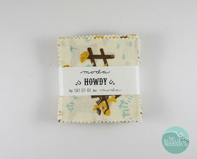 Moda - Howdy - Stacy Iest Hsu mini charm pack