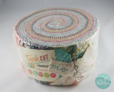 Moda - Basicgrey - Fresh Cut Jellyroll