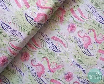 Dear Stella - pink paradise flamingo