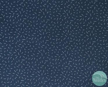 Figo fabrics - Special delivery sprinkle navy