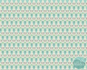 Figo fabrics - Special delivery storks blue