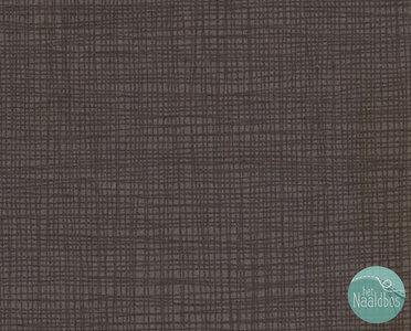 Makower - linen texture tonal ebony