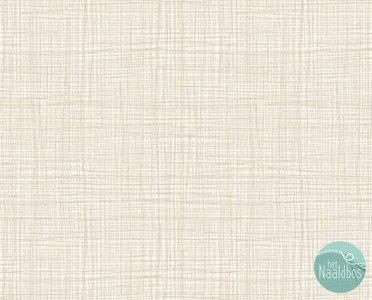 Makower - linen texture tonal cream
