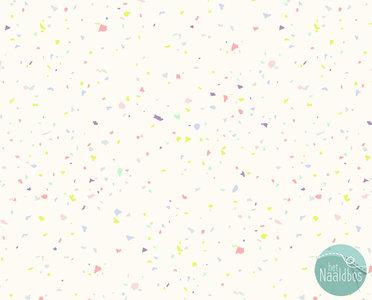 RJR - Confetti pastel on creme