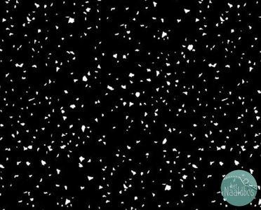 RJR - Confetti white on black