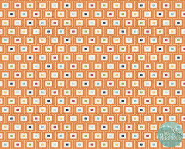 Riley Blake - play ball geo orange