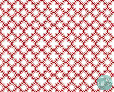 Quilting treasures - Sorbet essentials Geo red
