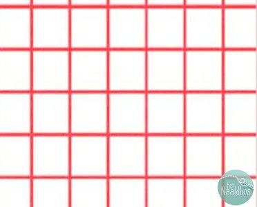 Windham - Citrus white red grid