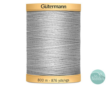Gütermann katoengaren lichtgrijs 618 800m