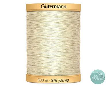 Gütermann katoengaren creme 919 800m