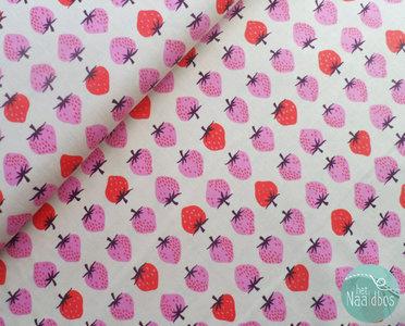 Cotton + Steel - Strawberry Peach