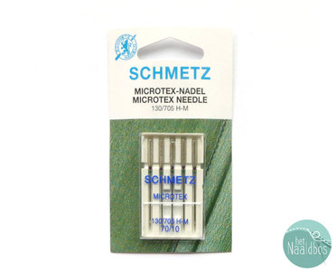 Schmetz microtex 70 machinenaalden