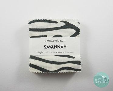 Moda - Savannah - Gingiber mini charm pack