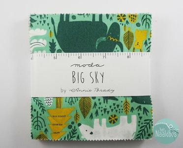 Moda - Big Sky - Annie Brady charm pack